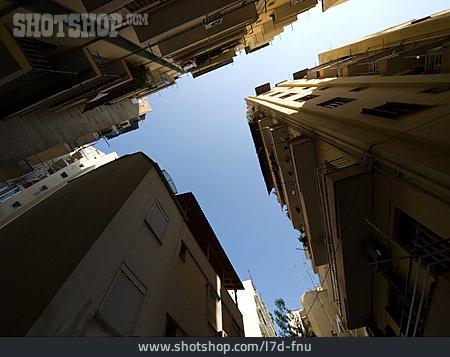 Urban Life, Tenement Block, Street Canyon