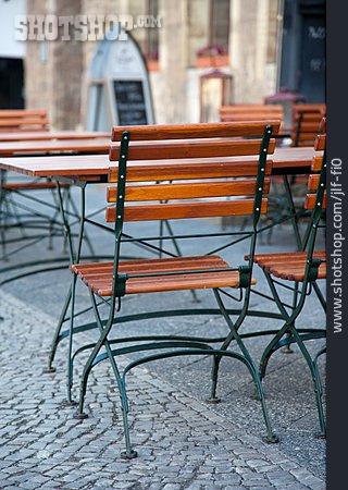 Chair, Sidewalk Cafe
