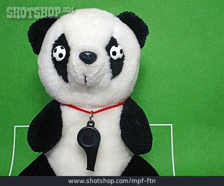 Soccer, Whistle, Mascot