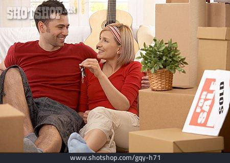 Love Couple, Move, House Buyers