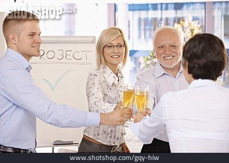 Teamwork, Celebrations, Toast, Project Financial Statements