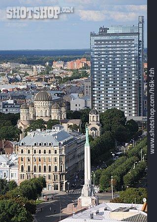 City View, Riga, Freedom Monument