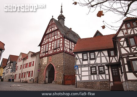 House, Timbered