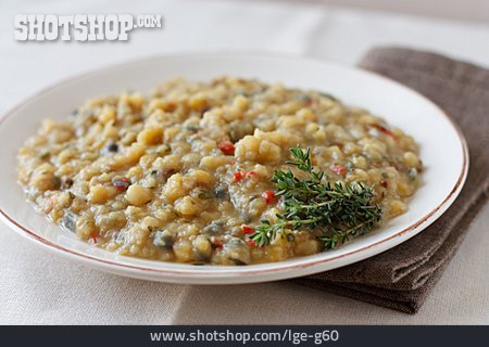 Indian Cuisine, Dish, Dish With Peas