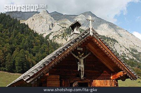 Austria, Tirol, Bildstockstraße, Cross