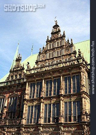 Town Hall, Gable, Bremen