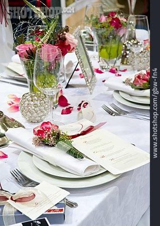 Table Decoration, Table Cover, Banquet, Banquet