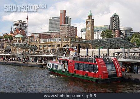 Hamburg, Landungsbrücken, St. Pauli