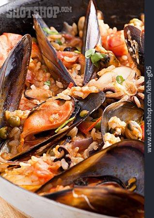 Mussel, Paella, Paella De Marisco