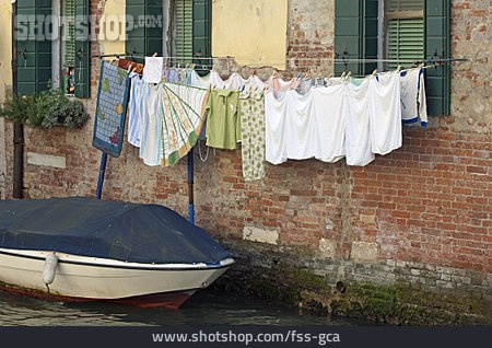 Drying, Clothesline, Laundry