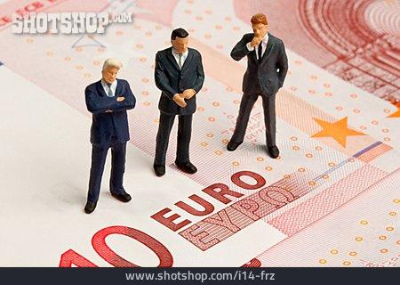 Banknote, Financial Crisis, Banker
