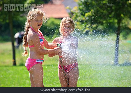 Girl, Refreshment, Cooling