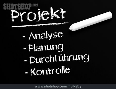 Slate, Project, Project Management