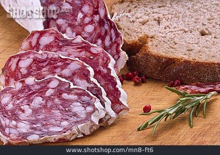 Salami, Salami Slice, Sausage