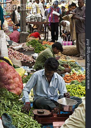 Market Stall, Vegetable Shop, Mysore