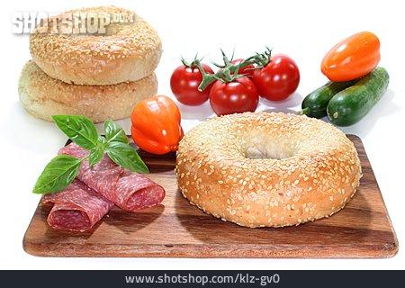 Snack, Bagel