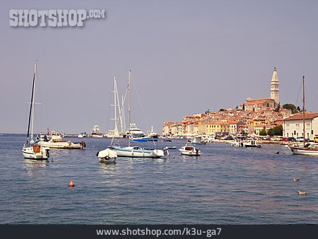 Harbour, Croatia, Rovinj