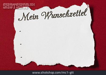 Christmas, Wish List