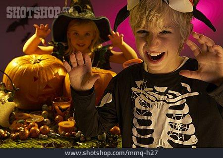 Frighten, Stage Costume, Halloween