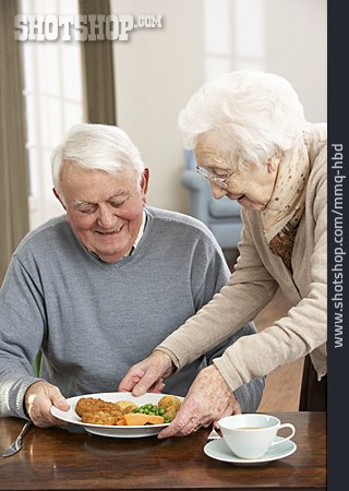 Eating & Drinking, Serve, Older Couple