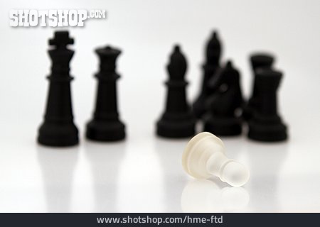 Strategy, Chess Piece, Defeat