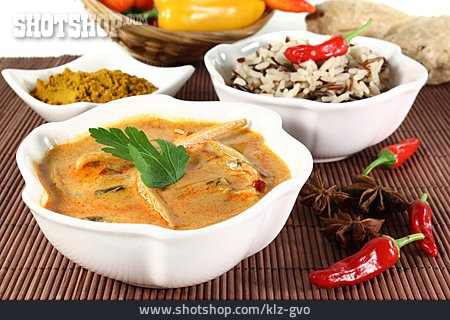 Indian Cuisine, Yellow Curry