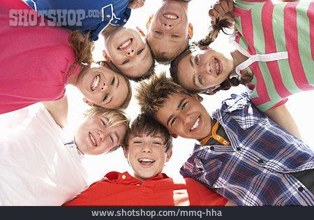 Children Group, Friendship, Togetherness