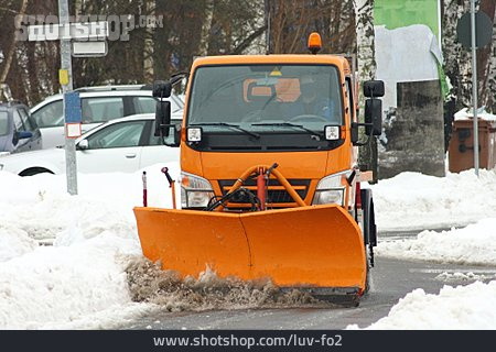 Winter, Snow Removing