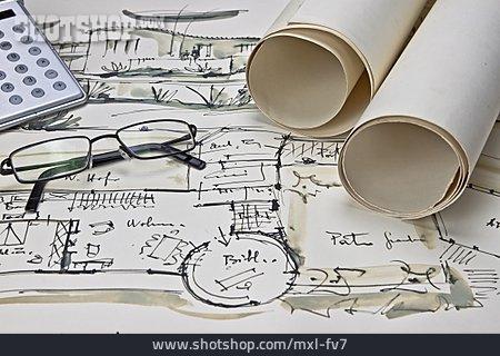 Planning, Blueprint, Architecture
