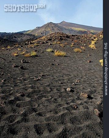 Volcano, Lava, Etna