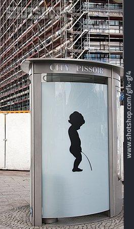 Urinal, Public Restroom