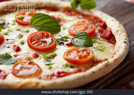 Italian Cuisine, Pizza, Pizza Margherita