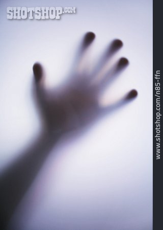 Fear, Death, Silhouette, Hand