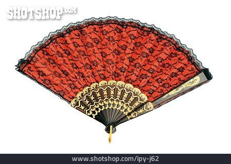 Fan, Folklore, Spanish