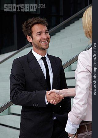 Businessman, Handshake, Business Person, Greeting, Business Partnership