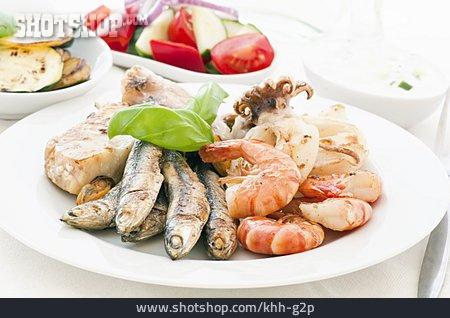 Seafood, Antipasto