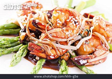 Asian Cuisine, Shrimp, Japanese Cuisine