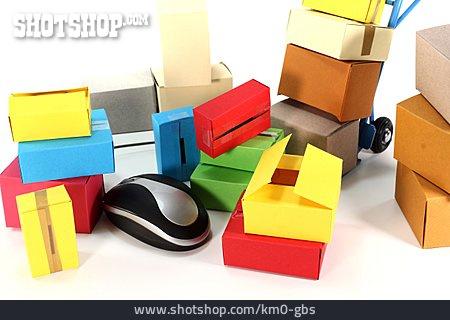 Carton, Online Shopping