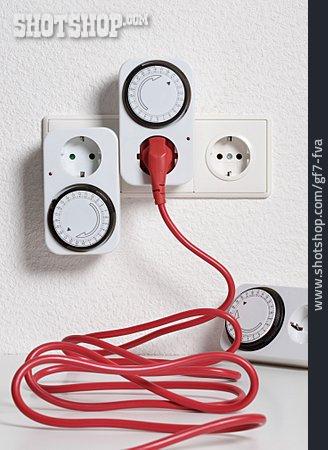 Plug, Power Consumption, Timer
