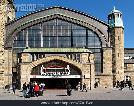 Railroad Station, Hamburg, Main Station