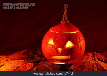 Halloween, Pumpkin Lantern, Autumn Decoration