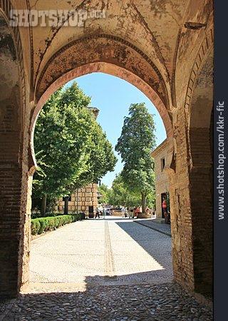 Archway, Granada, Alhambra