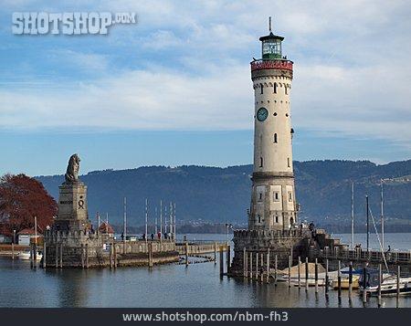 Lighthouse, Bodensee, Harbor Entrance