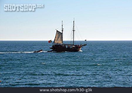 Sailboat, Timber Ship