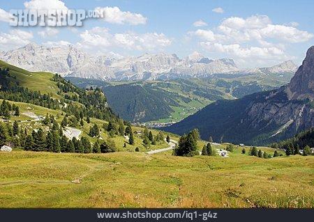 South Tyrol, Val Badia, Groednerjoch