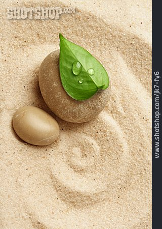 Wellness & Relax, Sand, Pebble