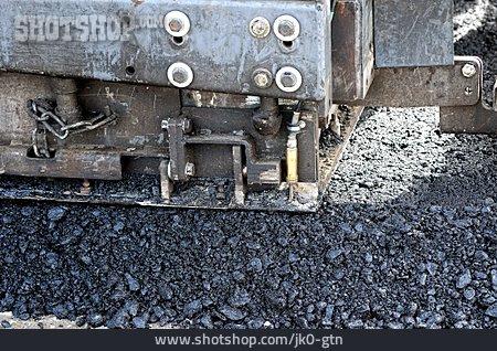 Road Construction, Asphalt, Asphalt Finisher
