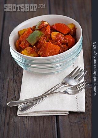 Hungarian Cuisine, Stew, Lecsó