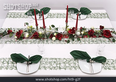 Table Decoration, Table Cover, Banquet