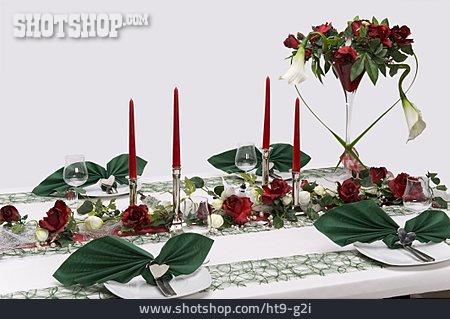 Romantic, Table Cover, Banquet